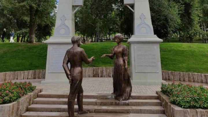 В Самаре появилась скульптура в честь вальса «На сопках Маньчжурии»