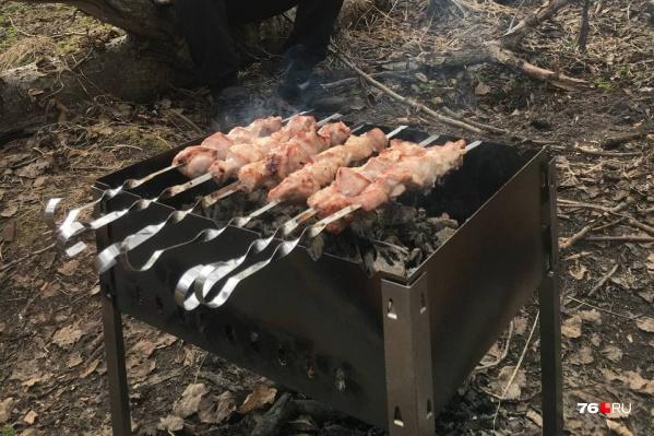 Разводить огонь можно только в мангалах или жаровнях