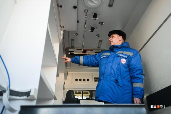 Машины скорой помощи стали реже ездить к екатеринбуржцам с инфарктом