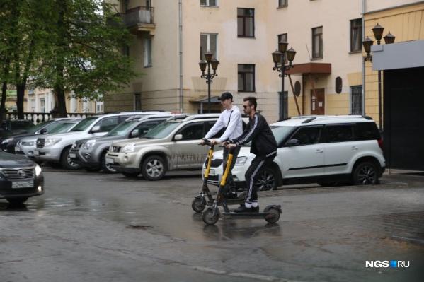 Парковки для самокатов могут сделать платными