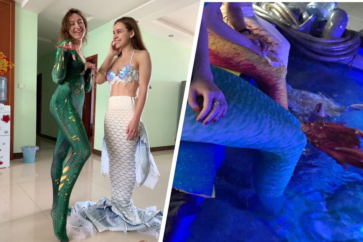 Официально русалок называют артистами водных шоу