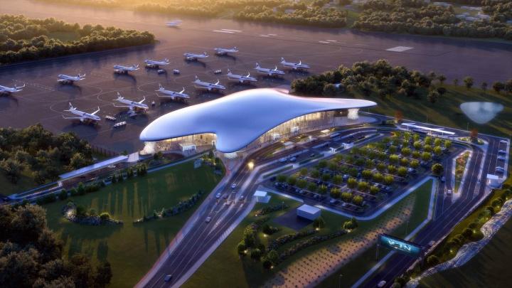 Возле аэропорта Геленджика построят современный парк