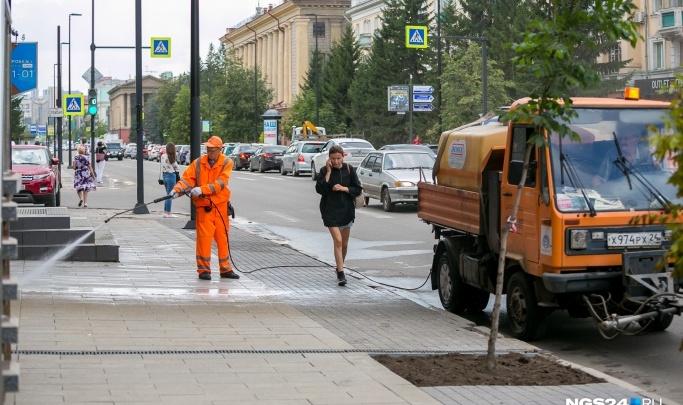 Красноярские дороги отмоют к лету за цену коттеджа в «Соснах»