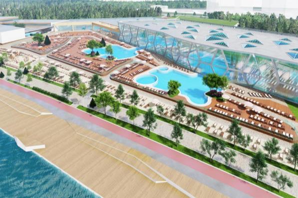 Планировалось, что так будет выглядеть новый комплекс на месте бывшего клуба