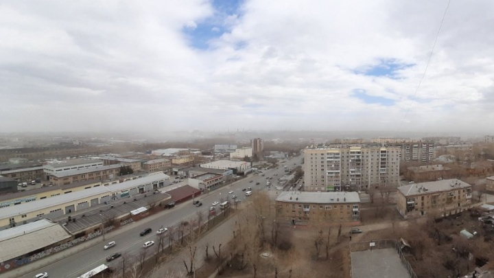 Минэкологии объявило о пылевых бурях в Челябинске и потребовало усилить уборку дорог