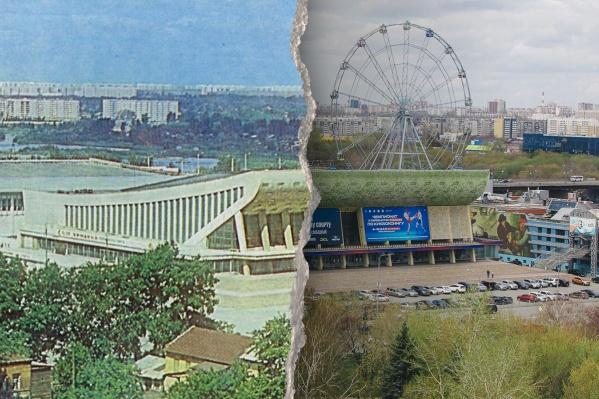 Дворцу спорта перекрыли вид на набережную