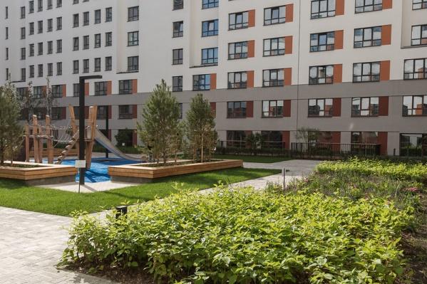 Дома Брусники, кроме всего прочего, любят за отличную организацию пространства дворов