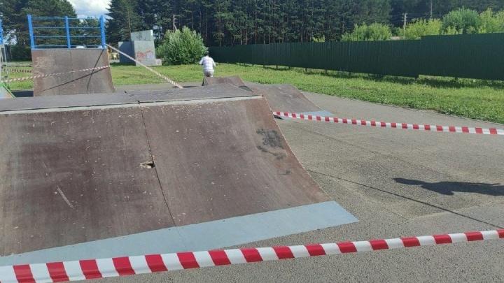 В Кузбассе возбудили уголовное дело после травмирования ребенка в скейт-парке