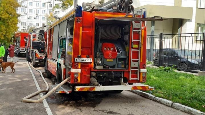 В Самаре два человека погибли во время пожара в многоэтажке