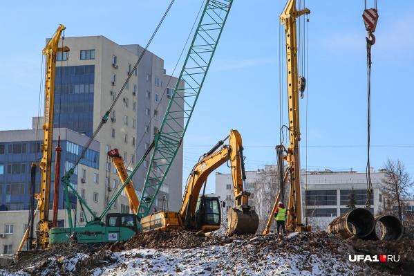 Работы на путепроводе начались 8 января
