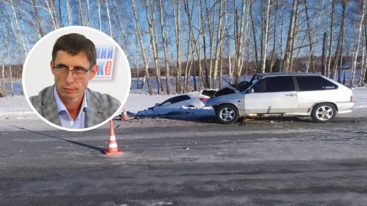 «Сказать, что не испугался, — значит обмануть»: директор департамента спорта Омска рассказал об аварии