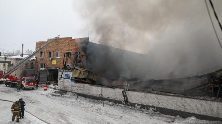 По факту пожара в «Автотрейде» возбуждено еще одно уголовное дело