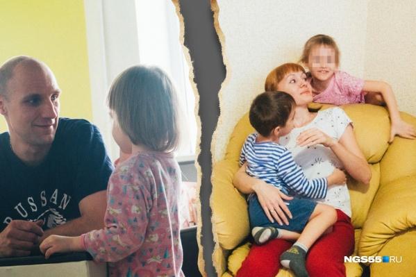 """Юрий уверяет, что сожительница ушла из семьи сама и не пыталась видеться с дочерью. <nobr class=""""_"""">Анна —</nobr> что ее выгнали и к девочке не подпускали"""