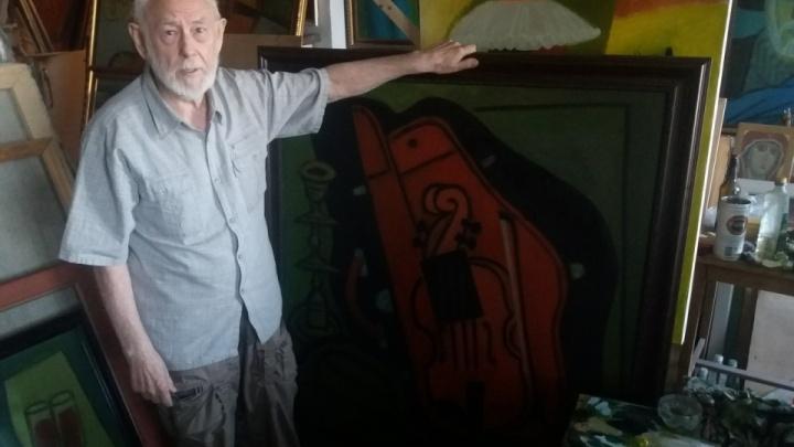 Умер известный волгоградский художник Глеб Вяткин