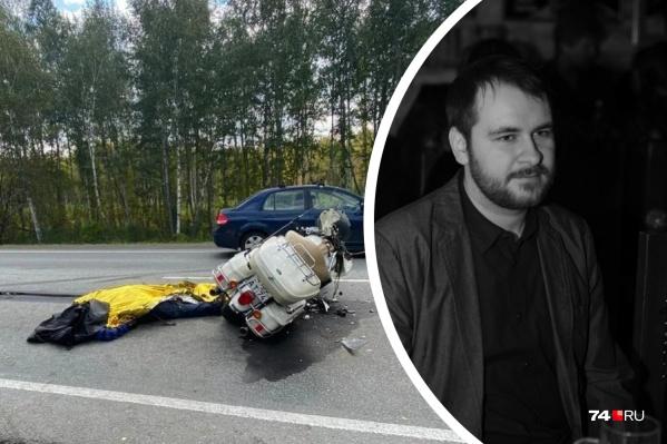 Этот мотоцикл Александр купил утром 14 сентября, а спустя несколько часов попал на нем в смертельное ДТП
