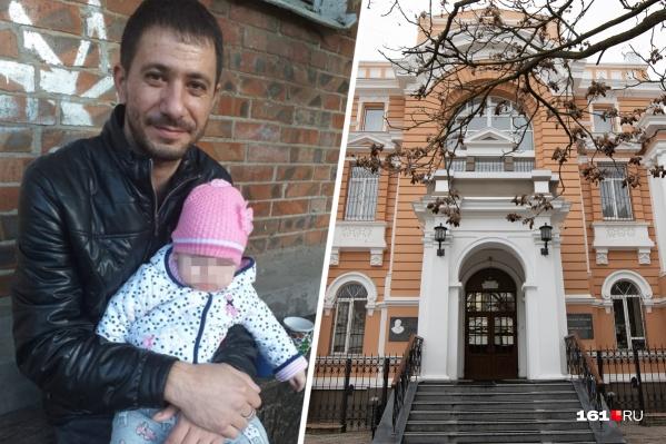 Апелляцию по делу отца многодетной семьи рассматривали в суде Ростовской области