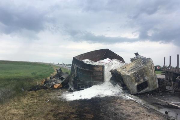 Авария произошла в Целинском районе