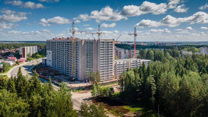 В доме от ПЗСП на Ушакова, 65 остались последние квартиры с отличными планировками