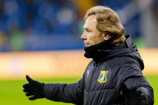 Валерий Карпин возглавил «Ростов» в декабре 2017 года