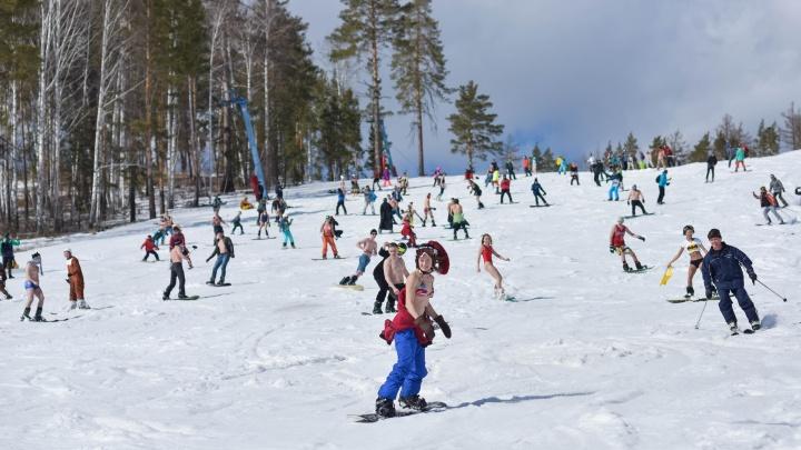 Горнолыжный сезон на Южном Урале продлили до середины весны