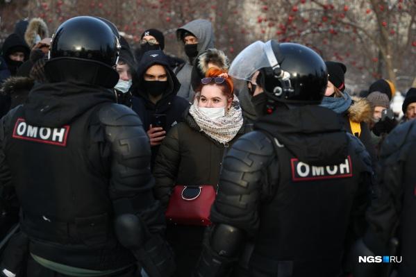 """Если акция протеста повторится, правоохранительные органы будут действовать так же, как <nobr class=""""_"""">23 января</nobr>"""