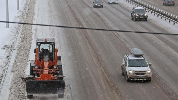 В Башкирии из-за снегопада и метели перекрыли некоторые дороги. Рассказываем, какие именно