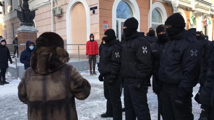 Акция в поддержку Навального в Кургане закончилась массовыми задержаниями