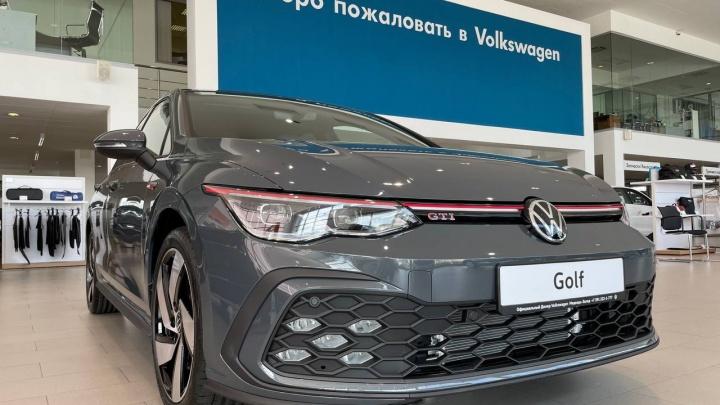 Volkswagen Golf в Красноярске: новинка доступна для заказа у официальных дилеров Volkswagen