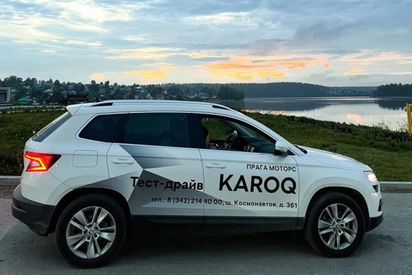 Кроссовер ŠKODA KAROQ сочетает великолепный дизайн и выдающийся уровень комфорта
