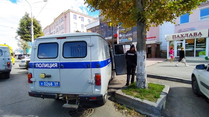 В Перми эвакуируют людей из торговых центров и детских садов