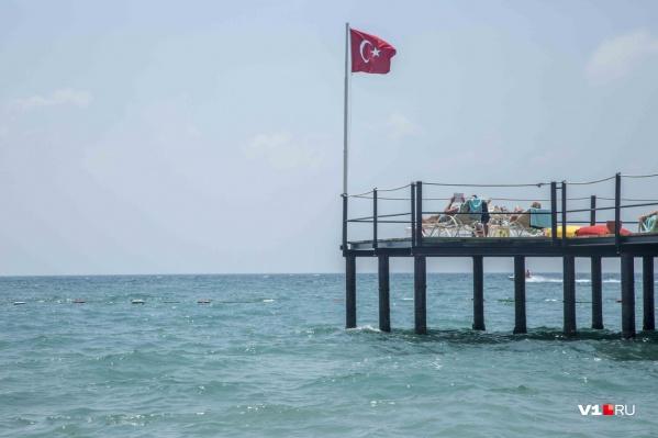 Берег турецкий открыт для всех привитых российских туристов