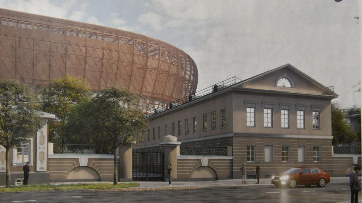 Особнякам быть: аварийным памятникам архитектуры у ледовой арены УГМК нашли применение