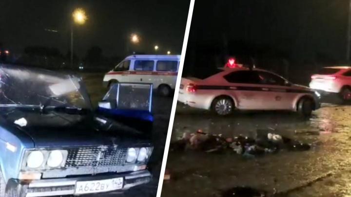 На дамбе ГЭС в ДТП погиб водитель «шестерки»