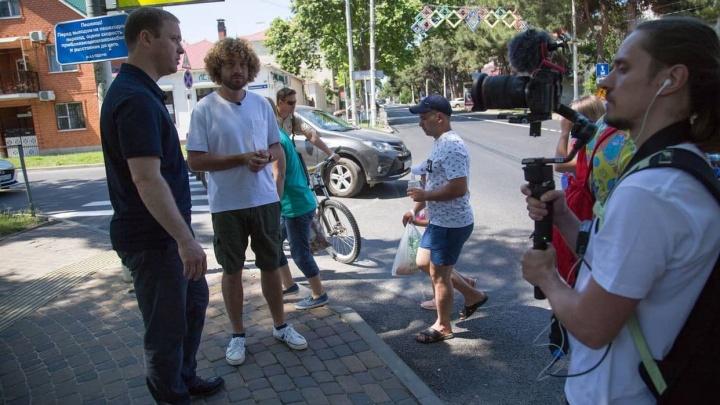 Урбанист Илья Варламов приехал в Анапу для съемок БДСМ