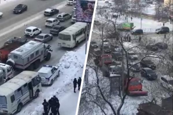 Машины заметили на улице Гоголя
