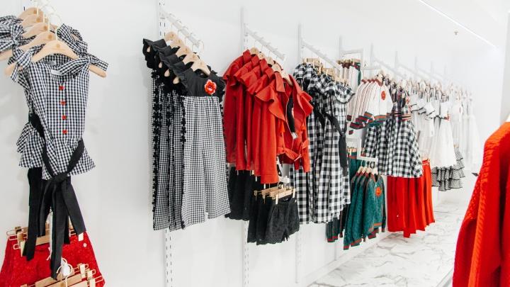 В «Ауре» открылся детский бутик, где продают испанскую одежду из Vogue и ELLE