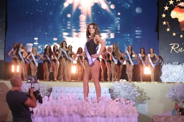 Варвара Созонова представляла Омск на конкурсе красоты