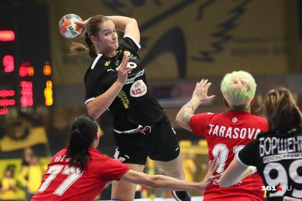 Екатерина Зеленкова впервые сыграла против своей бывшей команды
