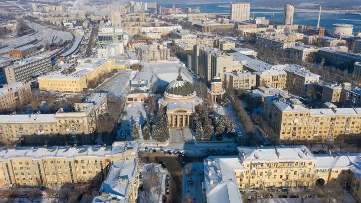 Волгоград в начале февраля окажется во власти южных ветров и мокрого снега
