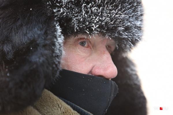 В этом году челябинцы переживают настоящую уральскую зиму