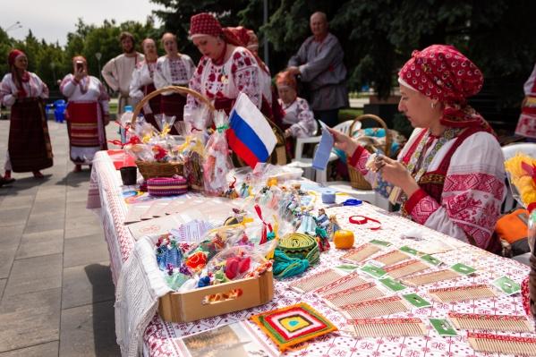 В Новокузнецке прошли различные мастер-классы и ярмарки