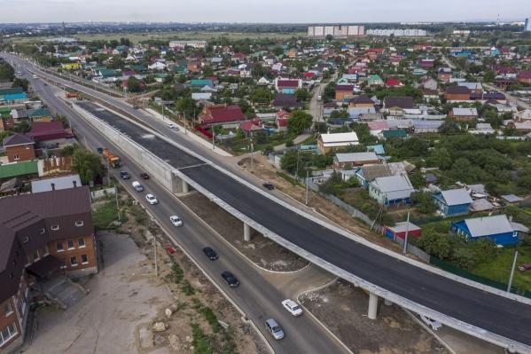 Путепровод на Утёвской уже почти готов