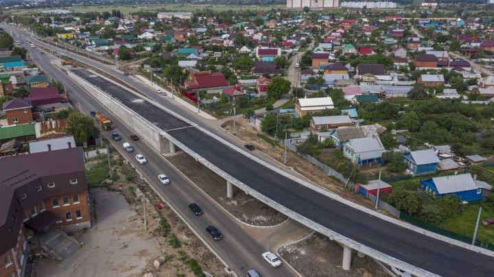 Развязки второй очереди Самарского (Фрунзенского) моста готовят к открытию движения