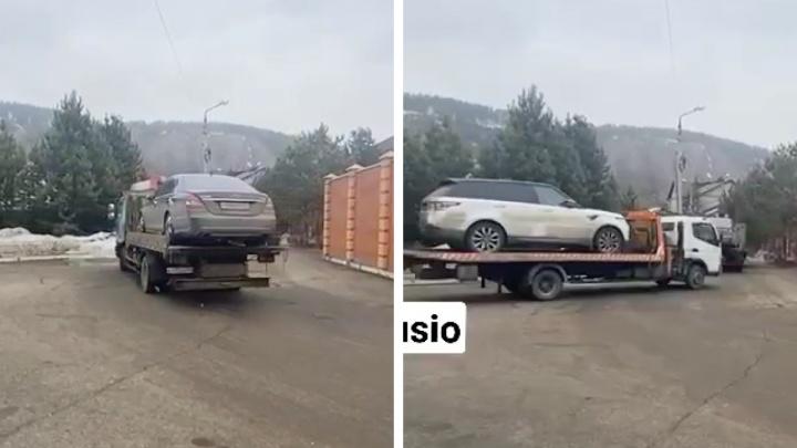 У сына Владимира Егорова изъяли два дорогих автомобиля