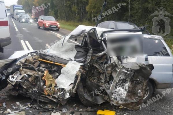 В ДТП в Ярославской области погиб водитель