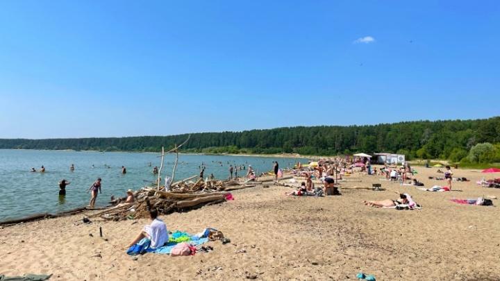 Пляжи возле Обского водохранилища открыли после аварии на канализации