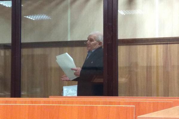 Юрий Савельев на суде