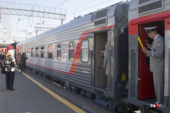 Новый поезд будет быстрее старых
