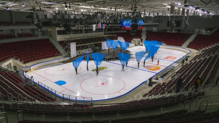В Самаре закончилось строительство нового Дворца спорта