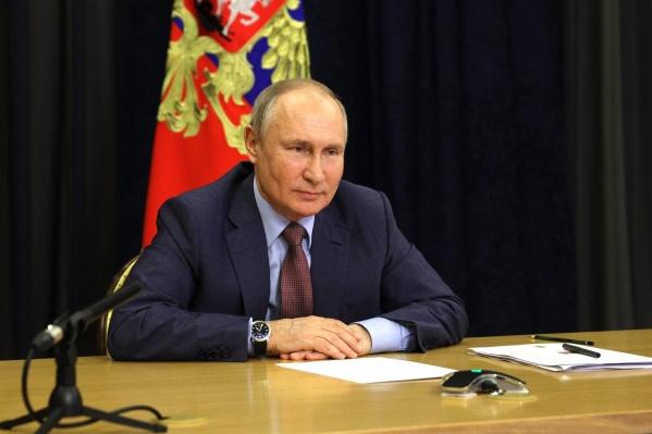 Требование бесплатно проводить газ к земельным участкам Путин озвучил во время апрельского послания Федеральному собранию